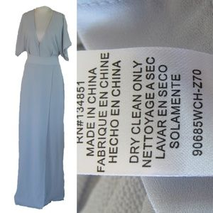 Wayf (Nordstrom) Side Slit Maxi Dress XXL